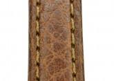 Hirsch 'Forest' 12mm Brown Soft Calfskin Leather Strap