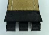 Hirsch Lionel, Watch Strap for Swatch Chronos in Black, 19mm, Steel Buckle