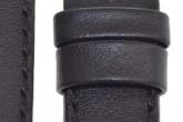 Hirsch 'Runner' 18mm Black Leather Strap
