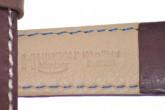 Hirsch 'Mariner' 22mm Brown Leather Strap