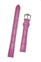 Hirsch 'LouisianaLook' M Pink Leather Strap, 12mm