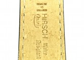 Hirsch 'Osiris' L Black Leather Strap, 18mm