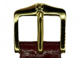 Hirsch 'Siena' M Burgundy, 16mm  Tuscan Leather Strap