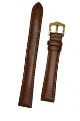 Hirsch 'Merino-Artisan' M Golden Brown Leather Strap, 14mm