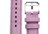 Hirsch 'Princess' Lilac Leather Strap, 12mm