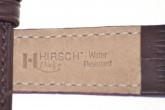 Hirsch 'Duke' Dark Brown Leather Strap, 12mm