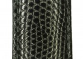 Hirsch 'Rainbow' L Black Leather Strap, 12mm