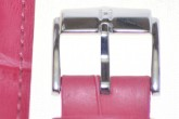 Hirsch 'Princess' Pink Leather Strap, 18mm