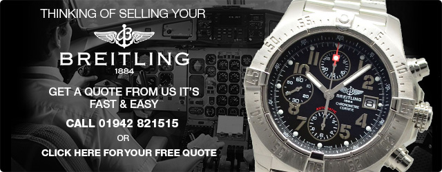 Sell your Breitling Manchester - Breitling Valuation