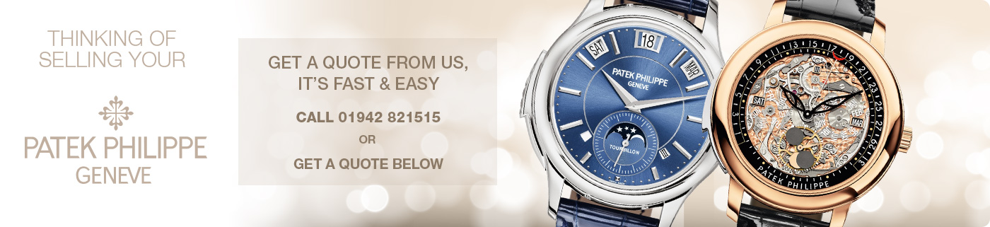 Sell your Patek Philippe Manchester - Patek Philippe Valuation