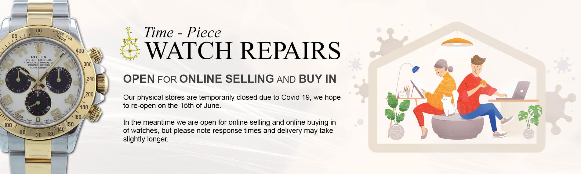 Online Rolex watch sales and trade in