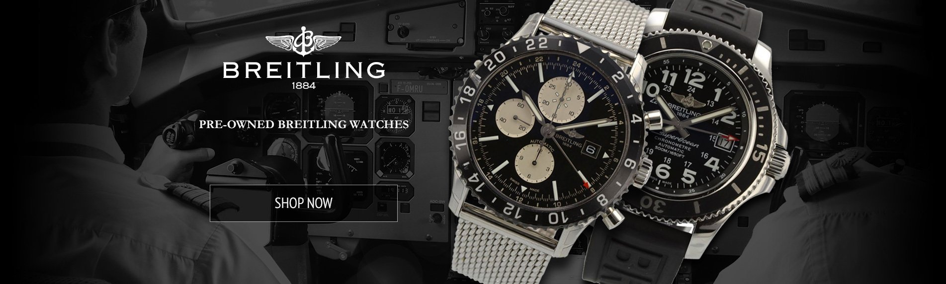 Buy and Sell Pre-owned Breitling Watches